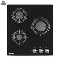 Варочная поверхность Ventolux HG430-G1G CS (BK) 45см черная газ контроль