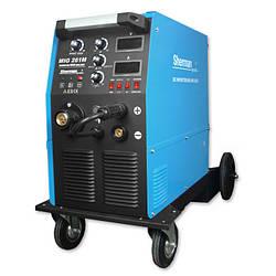 Зварювальний інверторний напівавтомат 230В + 380В., 250А/60%, IGBT, 4R, цифровий дісплей, Sherman profi