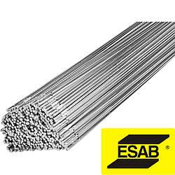 Проволока сварочная алюминиевая 3,2х1000мм, ER4047, AlSi12, пруток, Esab