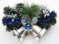 Новогодний декоративный венок с колокольчиками, 35.5см BonaDi 183-T55