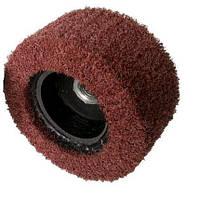 Круг шлифовальный лепестковый 100х50хМ14, чашка, с нетканого абразивного материала, VERY FINE, 6000об/хв, Glob