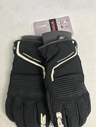 Кожаные мотоперчатки Breeze Lady Black/White B82 итальянской маркиSPIDI  размер  L