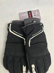 Шкіряні мотоперчатки Breeze Lady Black/White B82 італійської марки SPІDІ розмір L