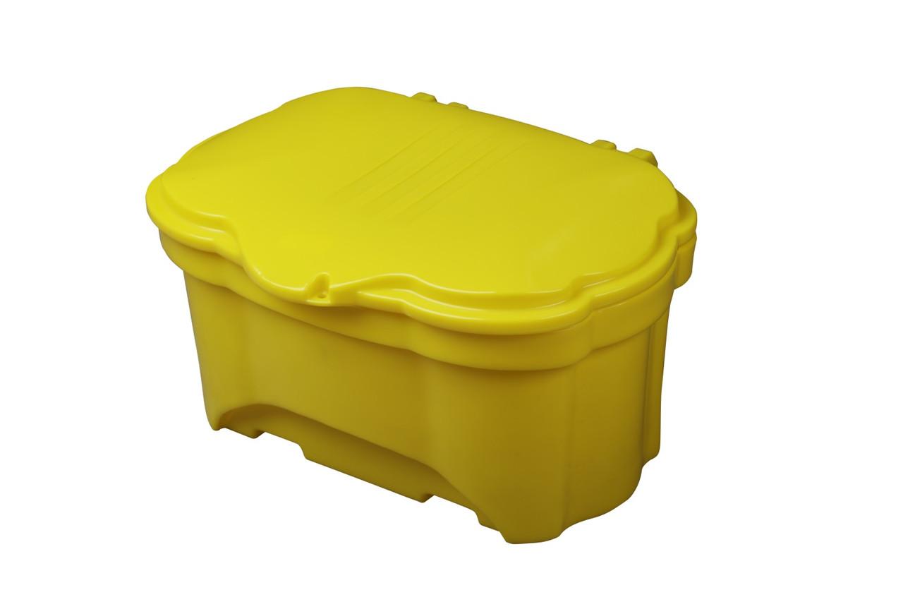 Контейнер для піску і солі 250л, 1100х820х660мм, жовтий