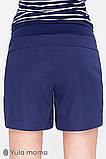 Шорты для беременных SAFO SH-20.011 темно-синие, фото 4