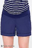 Шорты для беременных SAFO SH-20.011 темно-синие, фото 3