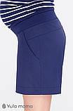 Шорты для беременных SAFO SH-20.011 темно-синие, фото 5