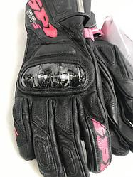 Кожаные женские мотоперчатки  итальянской маркиSPIDI SRT-5 Lady