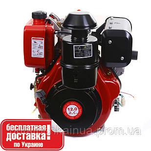 Двигатель дизельный WEIMA WM188FBE (вал шпонка, дизель, 12.0 л.с., 456cc, съемный цилиндр, эл. старт)