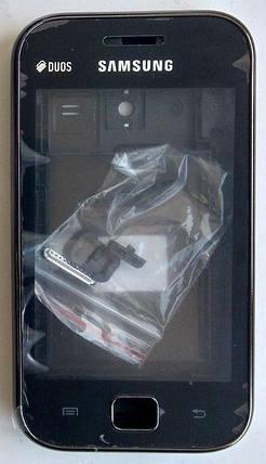 Корпус для Samsung S6802 Galaxy Ace Duos Black, фото 2