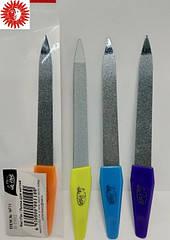 Пилочка для ногтей La Rosa металлическая с сапфировым напылением 12,5 см NF11