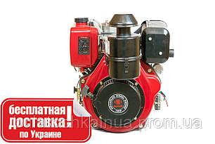 Двигун дизельний WEIMA WM188FBE (вал шпонка, дизель, 12.0 л. с., 456cc, знімний циліндр, ел. старт)
