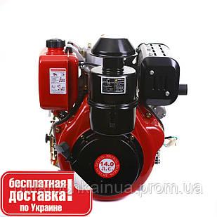 Двигун дизельний WEIMA WM192FЕ (вал шпонка, дизель, 14.0 л. с., 498cc, ел. старт)