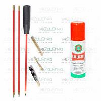 Набор для чистки калибра 7,62 (2 ерша, вишер) + Ballistol 50 ml spray