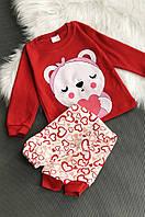 Пижама детская красная ABC 744