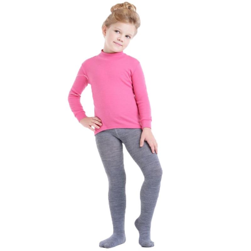 Термоколготки детские NORVEG Multifunctional (размер 86-92, серый)