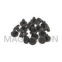 Резиновая прокладка (20 шт) решетки к плите Electrolux 50280807004