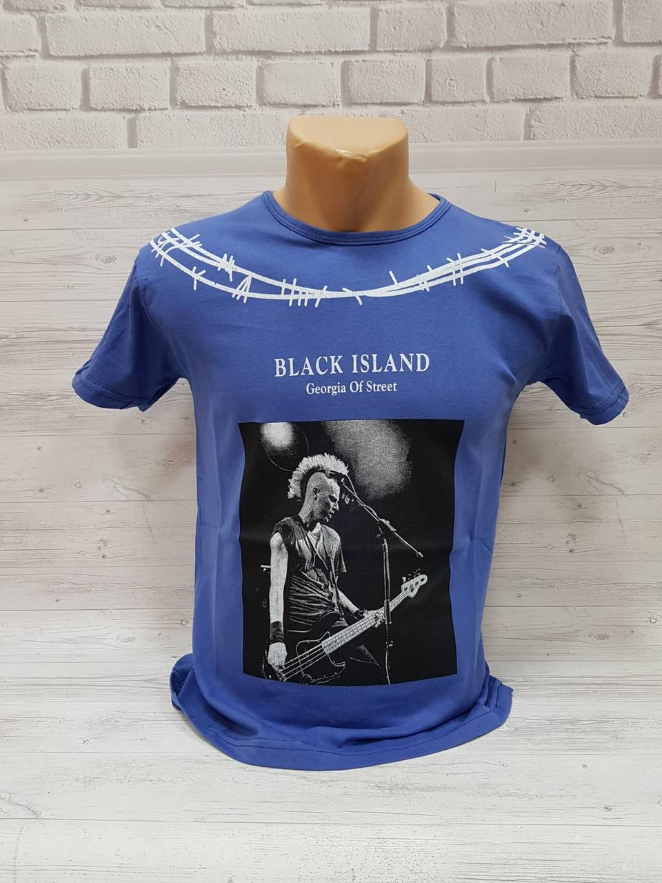 Мужская футболка BLACK ISLAND