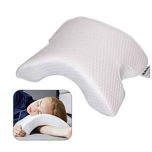 Подушка ортопедическая с эффектом памяти изогнутая, фото 2