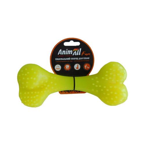 Игрушка AnimAll Fun кость, желтая, 25 см