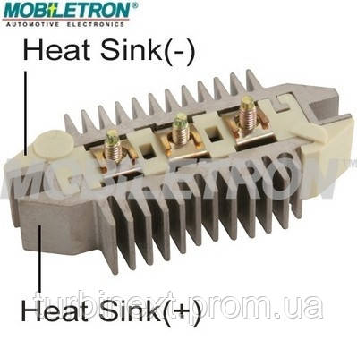 Діодний випрямляч DER1003 CN OPEL 1205409 MOBILETRON RD18H