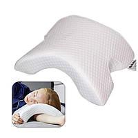 Подушка ортопедическая с эффектом памяти изогнутая