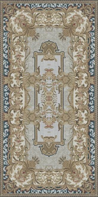 Декор Kerama Marazzi Орнамент беж обрезной Ковры 120х240 TG\A09\SG5918R