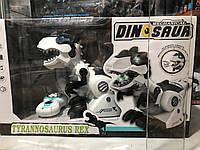 Игрушка Динозавр на Радиоуправлении , сказки,песни,танец , свет, звук.
