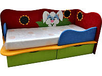 Детская кровать с ортопедическим матрасом. Детская кровать