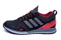 Чоловічі кросівки літні сітка Adidas Summer red (репліка)