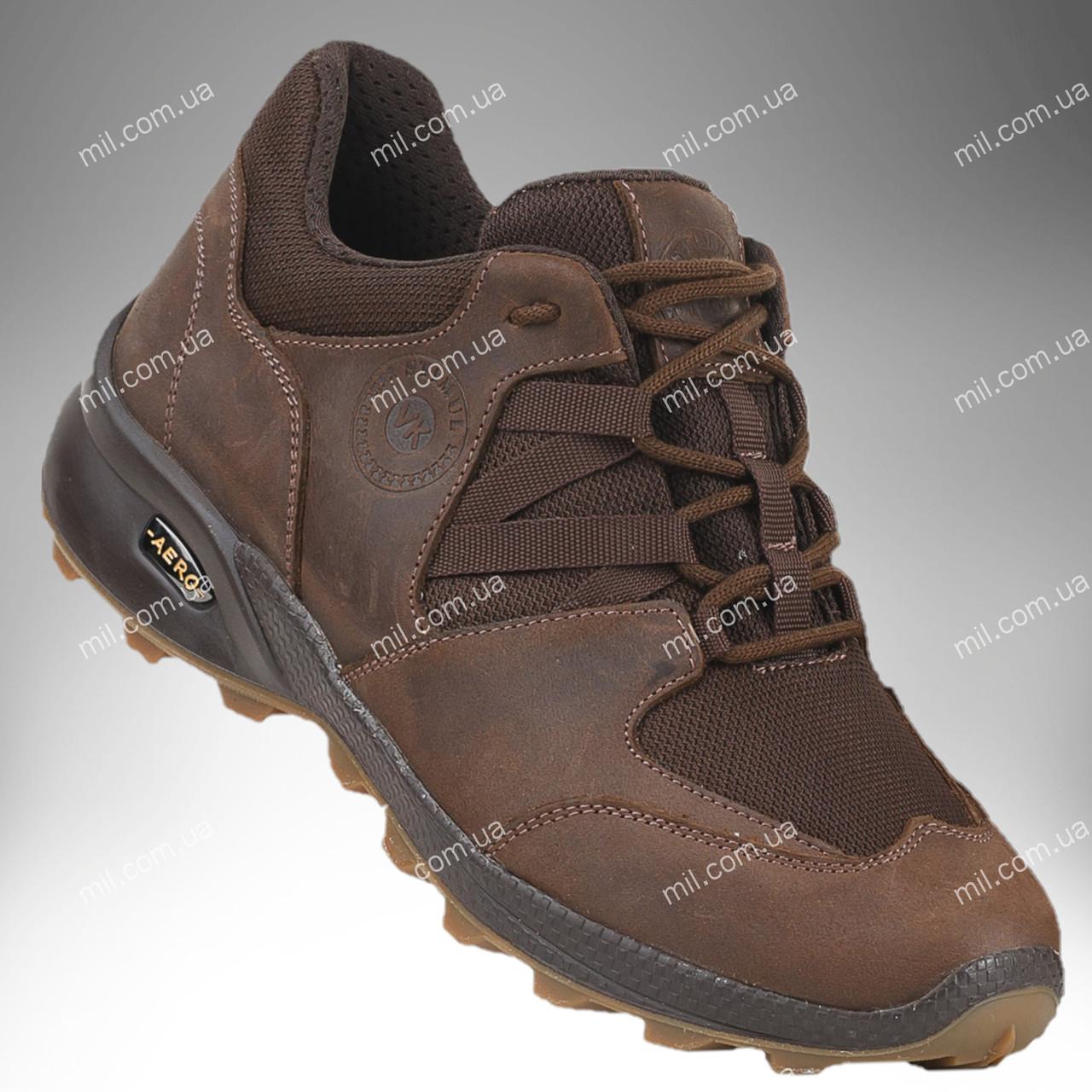 Военная обувь демисезонная / трекинговые тактические кроссовки PEGASUS Stimul (brown)