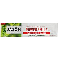 """Зубная паста отбеливающая Jason Natural """"PowerSmile Whitening Paste"""" со вкусом мяты (170 г)"""
