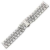 Ремешок BeWatch classic стальной Link для Samsung Galaxy Watch 46 мм Silver (1021405), фото 1