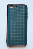 Чехол Fiji для Apple Iphone 7 Plus бампер с металлической накладкой Gelius Metal Plating Blue