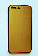 Чехол Fiji для Apple Iphone 7 Plus бампер с металлической накладкой Gelius Metal Plating Gold