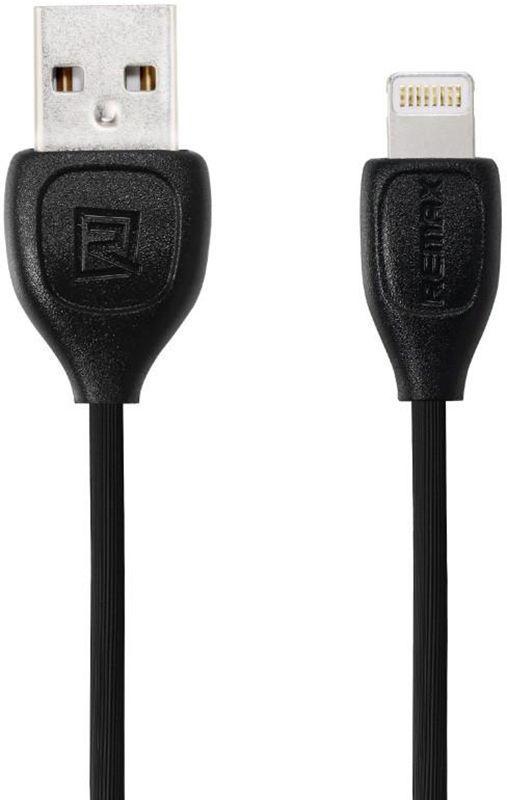 USB кабель Remax RC-050i Lesu Lightning (iPhone) 1.8A 1м, черный
