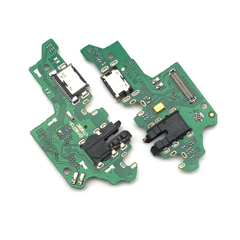 Плата зарядки для Huawei Y9 (2019) | JKM-L23 с разъемом зарядки и компонентами