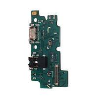 Плата нижняя (плата зарядки) Samsung A505 Galaxy A50 (2019) | A505F с разъемом зарядки и компонентами