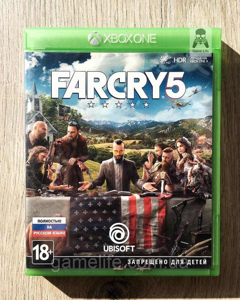 Far Cry 5 (рус.) (б/у) Xbox One