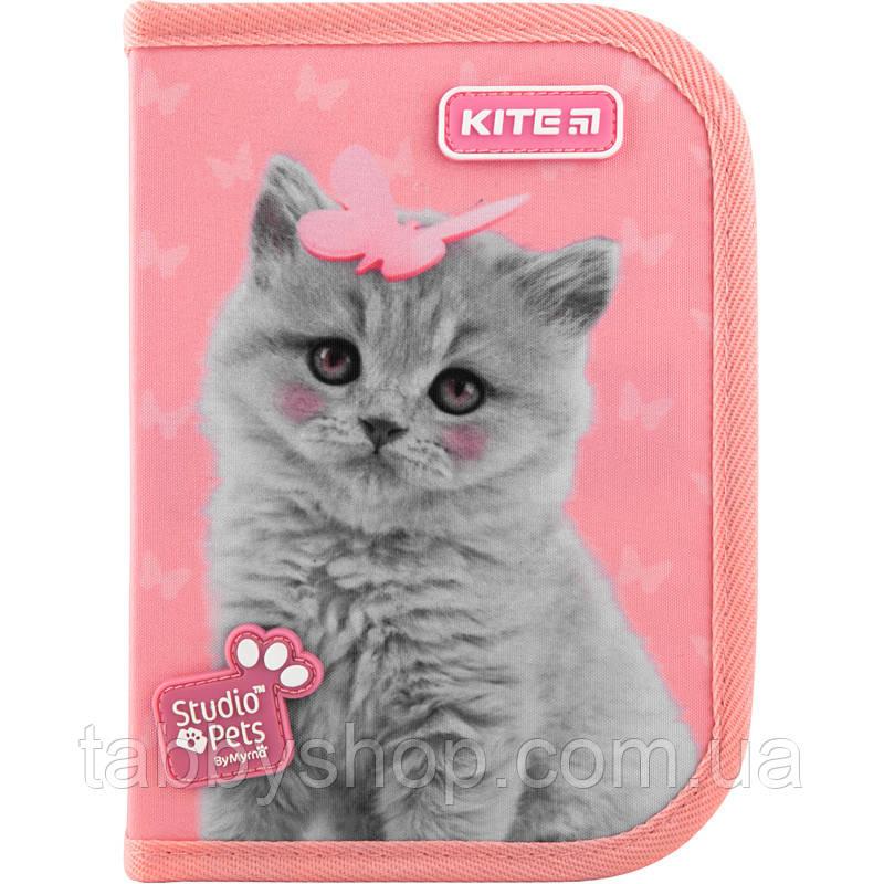 Пенал школьный KITE Education Studio Pets 622