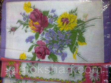 Носовий хустку жіночий в упаковці, бавовна, фото 7, фото 2