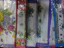 Носовий хустку жіночий в упаковці, бавовна, фото 7, фото 3