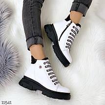 Ботинки белого цвета, фото 3