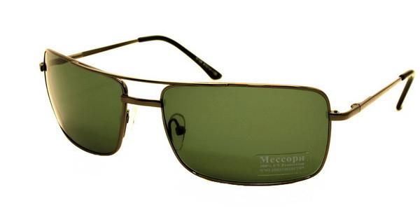 Солнцезащитные очки СТЕКЛО B156 черные