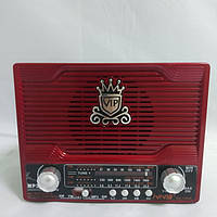 Радиоприемник NS-1556S с солнечной панелью, Red