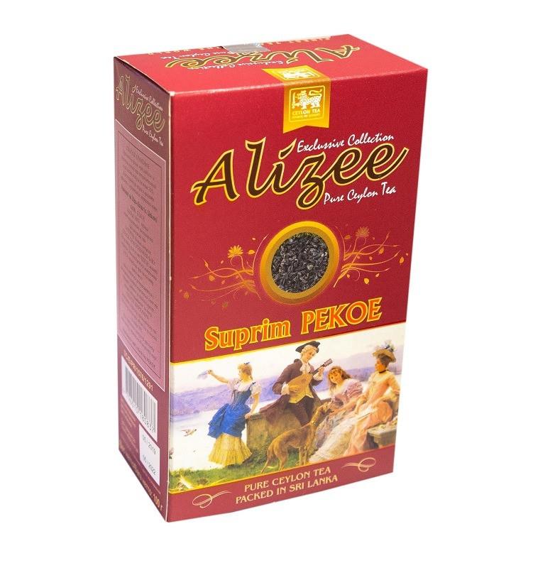 Черный цейлонский чай Ализе Пекое среднелистовой 100 грамм