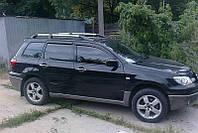 Ветровики Mitsubishi Outlander I 2001-2007  дефлекторы окон