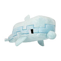 JINX Плюшевая игрушка Minecraft Adventure Dolphin Plush