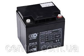 Гелевый аккумулятор OUTDO 12V-40Ah (12V40Ah/20HR) OT40-12