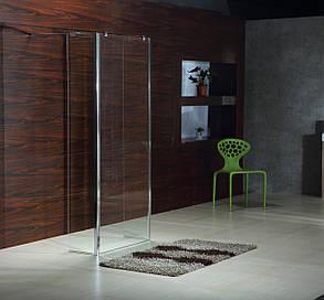 Стенка Walk-In 30*190см, каленое прозрачное стекло 8мм VOLLE 18-07-30, фото 2